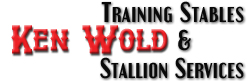 Ken Wold Training Stables and Stallion sErvicews